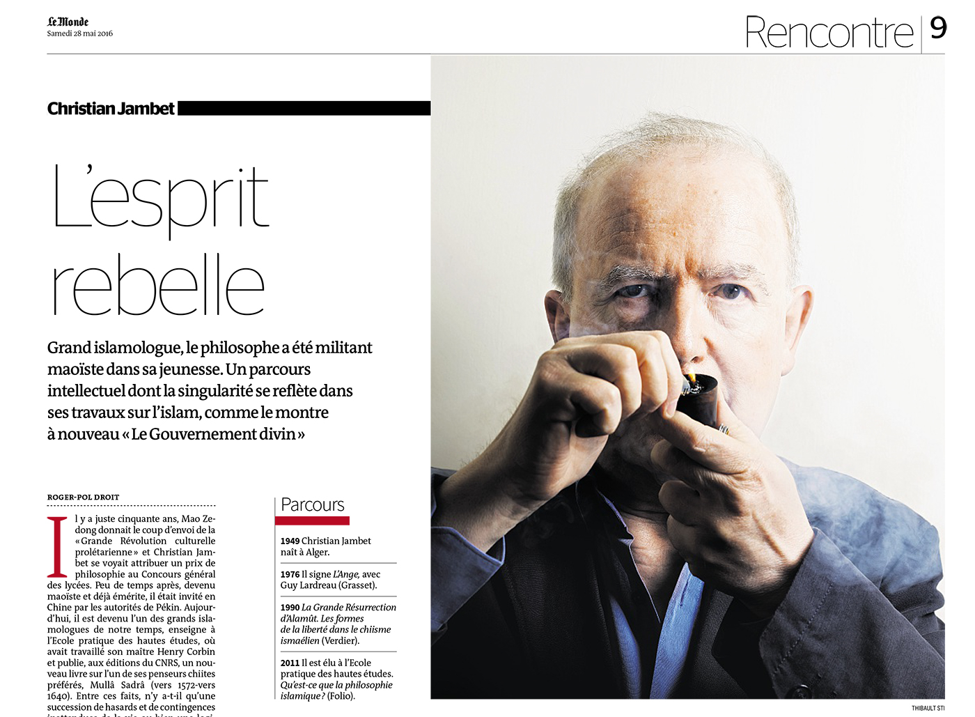 Thibault Stipal - Photographer - Christian Jambet - Le Monde - 1