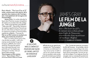 Thibault Stipal - Photographer - James Gray pour Paris Match