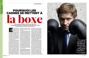 Thibault Stipal - Photographer - Capital magazine - Boxe