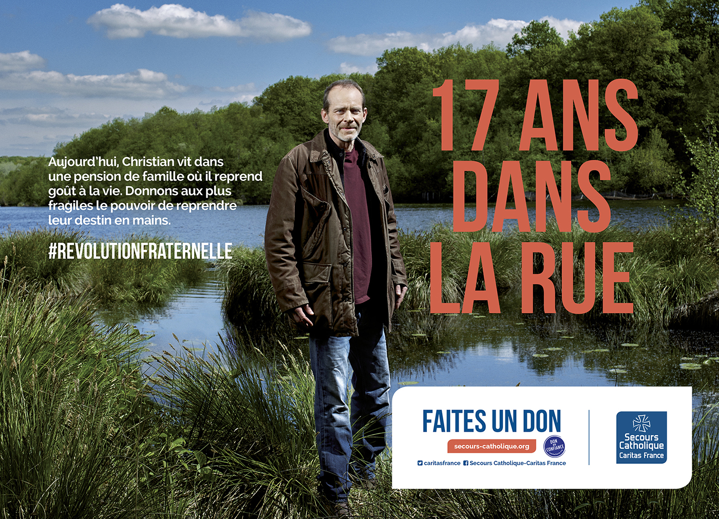Thibault Stipal - Photographe - CAMPAGNE NATIONALE SECOURS CATHOLIQUE  - 1