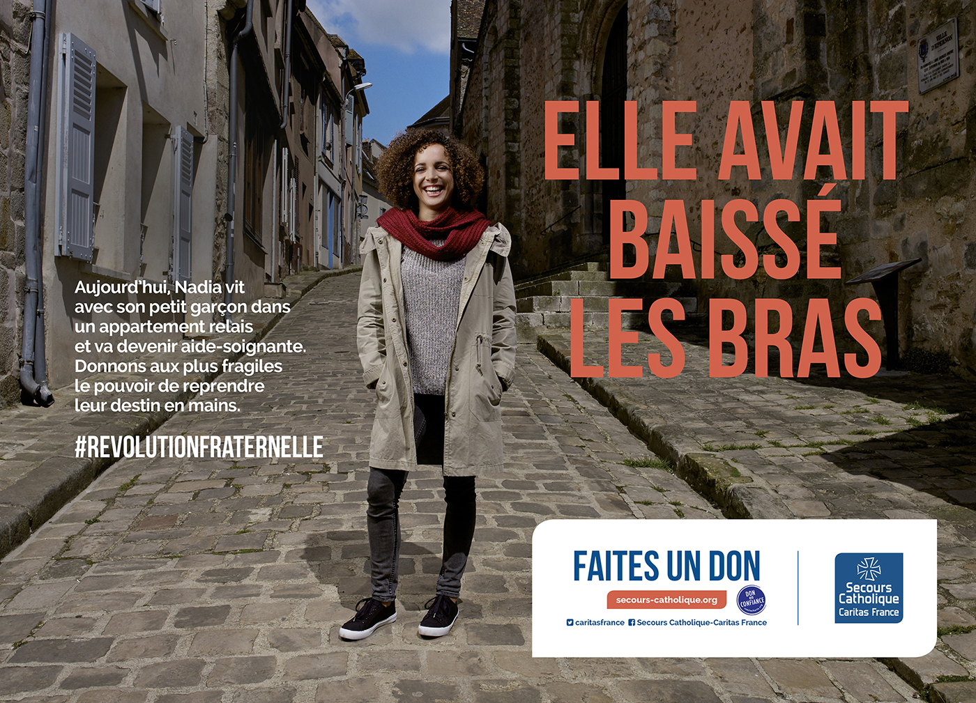 Thibault Stipal - Photographe - CAMPAGNE NATIONALE SECOURS CATHOLIQUE  - 2