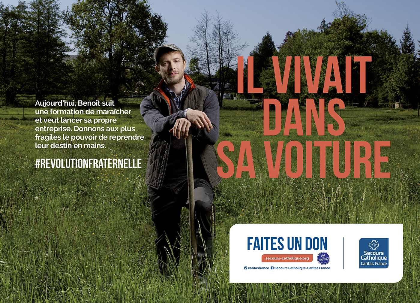 Thibault Stipal - Photographe - CAMPAGNE NATIONALE SECOURS CATHOLIQUE  - 3